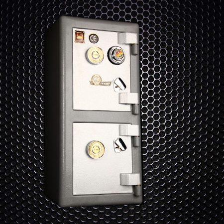 گاوصندوق گاو صندوق کاوه 250DKR دوطبقه کلید و رمز تایوانی